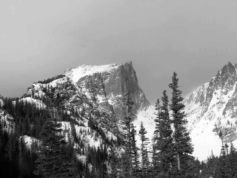 Hallett Peak. Photo by Ben Williams.