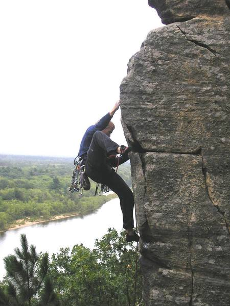 Dave Groth on Fire in the Sky 10a, Necedah, WI