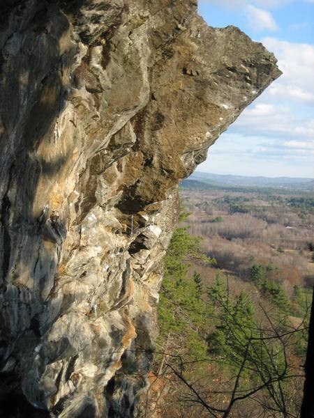 The unmistakable prow of Predator. The ledge can be seen in the bottom of the photo.