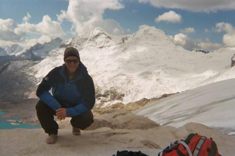 High Camp on Toqllaraju, Peru