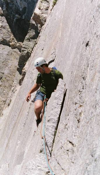 Direct S. Buttress Right, Mt. Moran, WY