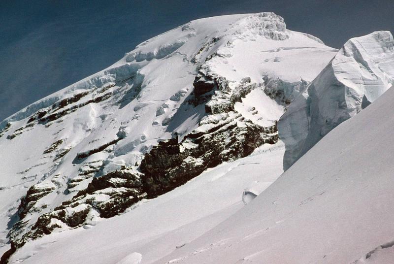 Mt. Baker, north-west face.