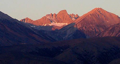 Mt. Sill.<br> Photo by Blitzo.