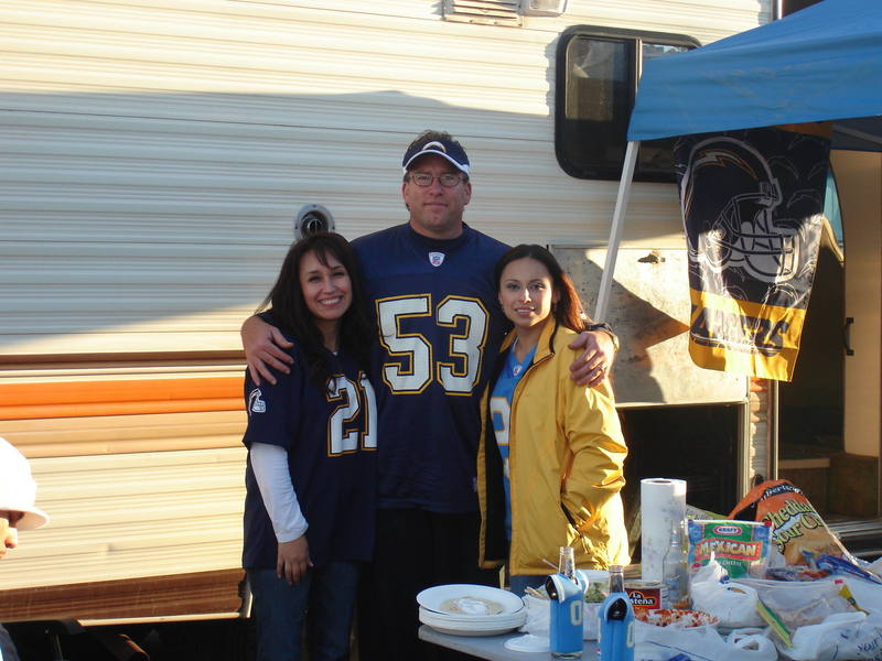 ATS at a Chargers game 2006