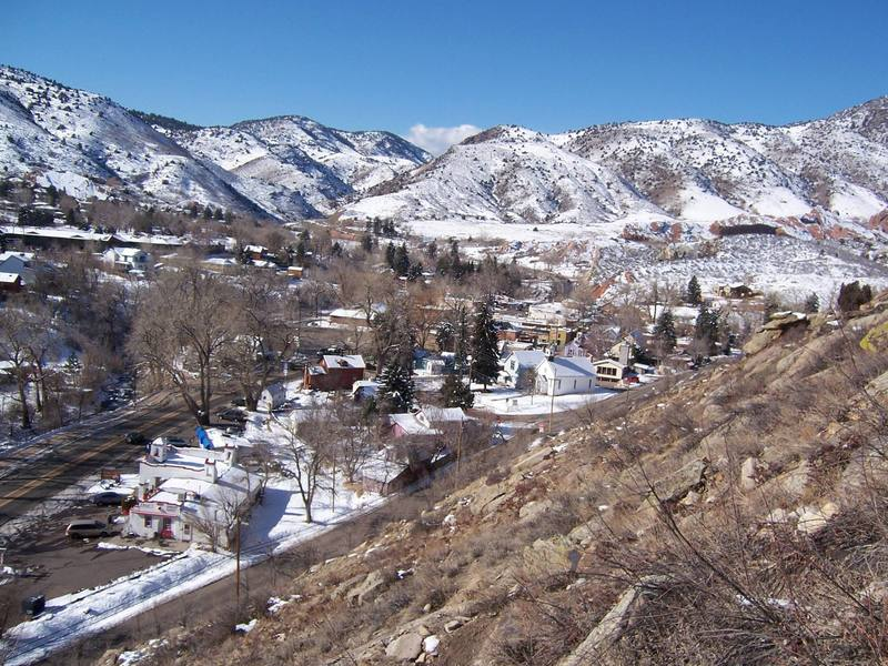 Morrison, Colorado. This photo was taken in February/March 2005 on a warm day.