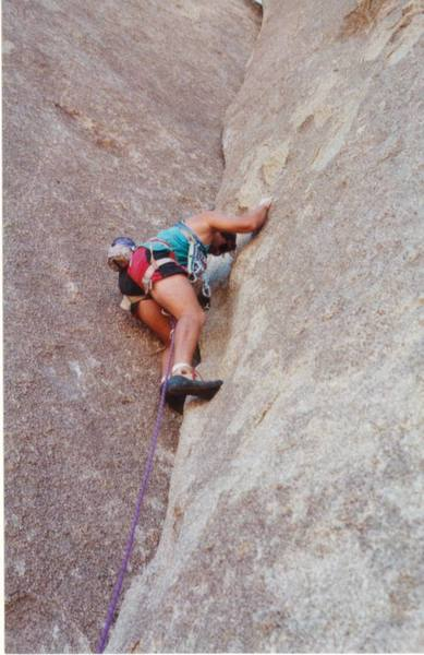 Stacky on the Dolphin (5.7) circa 1989.