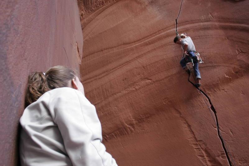 (Indian Creek, Moab-Utah)thats what I call flippin cool!