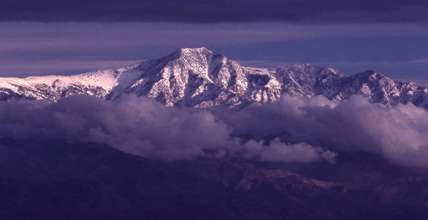 Telescope Peak towers above Death Valley.<br> photo by Blitzo.