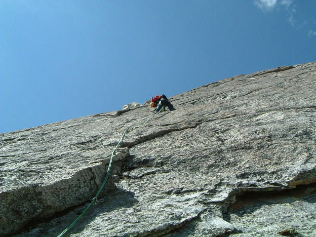 Me leading pitch 2; 2nd Apron