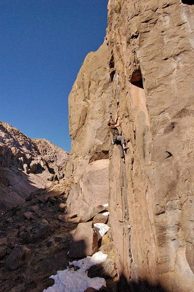 Mike Williams on Get Over It, Owens River Gorge