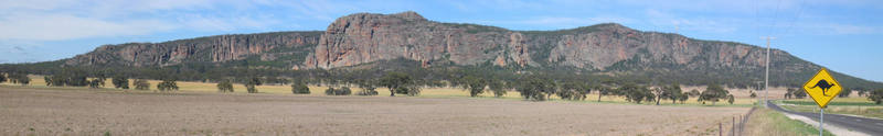 The Arapiles panorama.