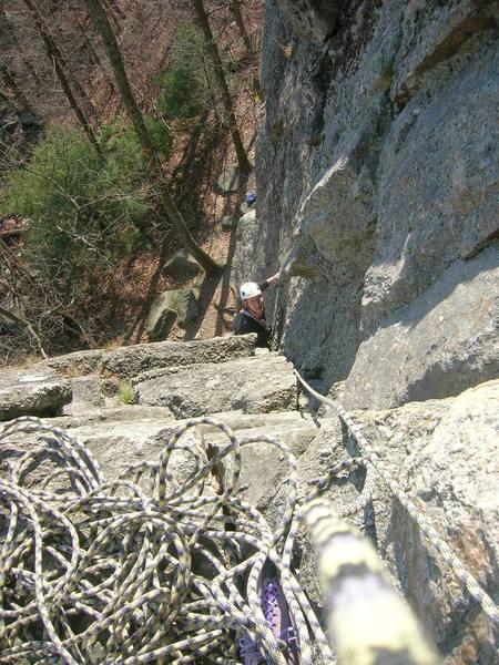 Climbing P1.