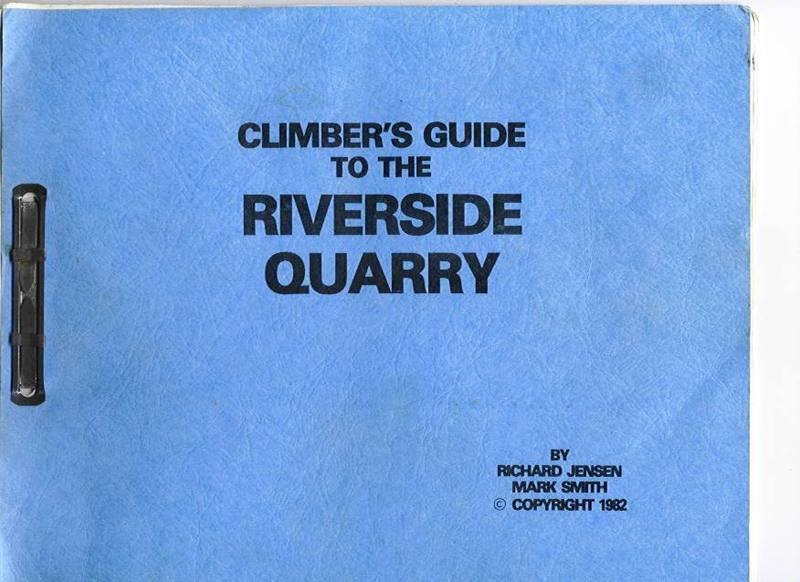 This original guide had 24 climbs and most were nailing routes!