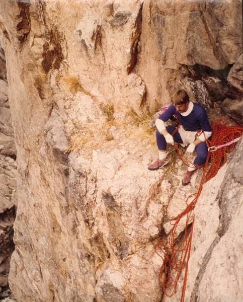 Classic fashion often found on Black Canyon hardmen in the 1980s!<br>