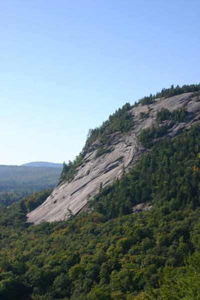 the Whitehorse slabs as viewed from cathedral ledge