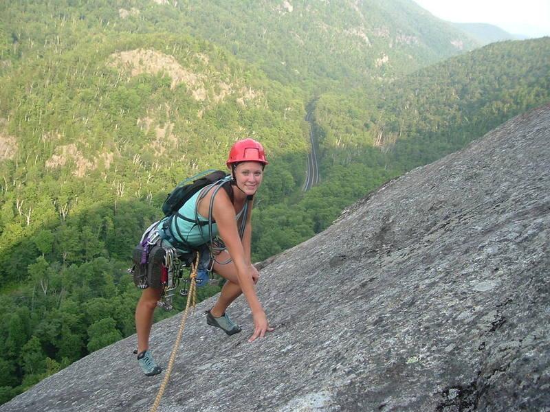 Kara at the top of Empress.