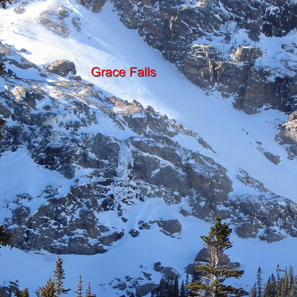 "Grace in early season splendor.  It will form up to a 300' wide and 100' tall ""flow"" by early spring."