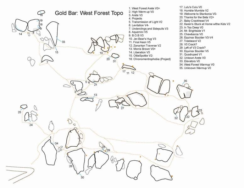 West Forest Map Updated 01/2007
