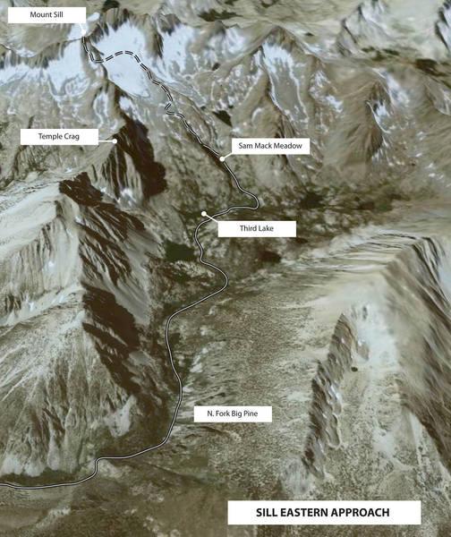 Mount Sill eastern approach
