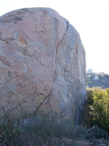 Synchronicity is the seam that splits the rock from top to bottom.
