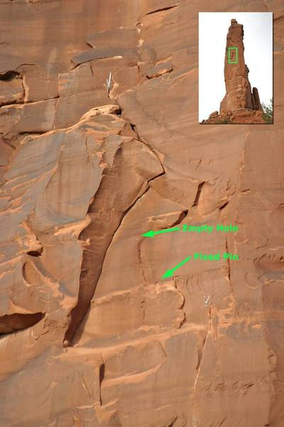 Close up of the upper half of the third pitch (as described above).