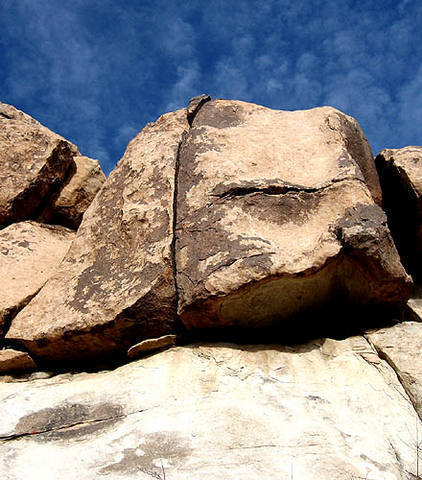 Smith Rock. Bighorn Hand Crack.<br> Photo by Blitzo.