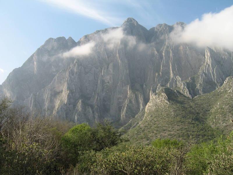 Low clouds over El Toro.