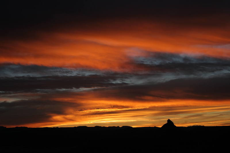 Six Shooter sunset
