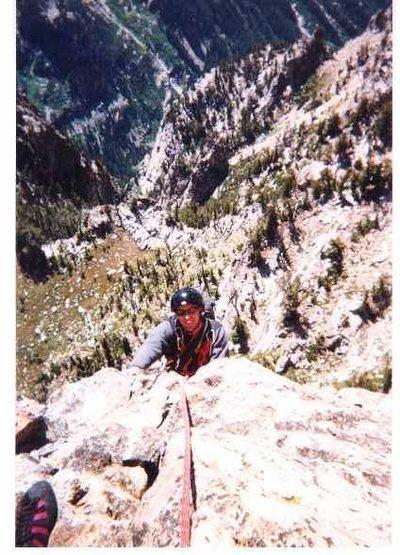 Symmetry Spire, Cascade Canyon, 1999<br> <br> <br>
