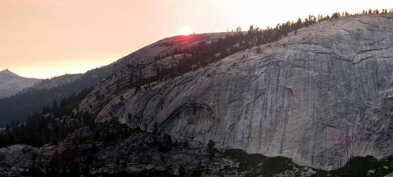 Sunset in Sequoia-Kings Canyon