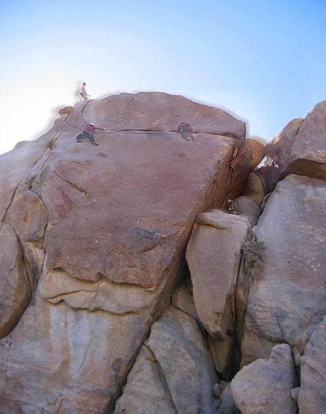 """Time-lapse of unknown climber on """"Around The World"""""""