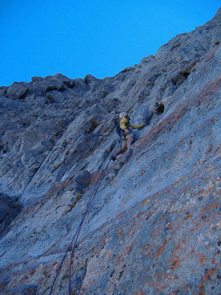 Pitch six on Book of Saturday, Notch Peak. This was one of my favorite pitches.
