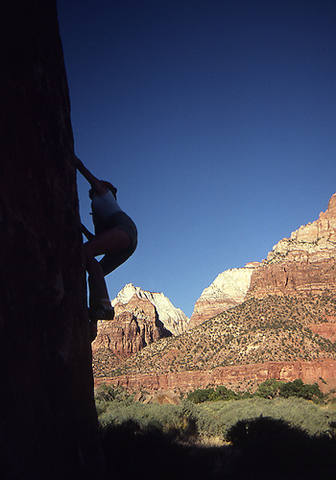 Playing in Zion.<br> Photo by Blitzo.