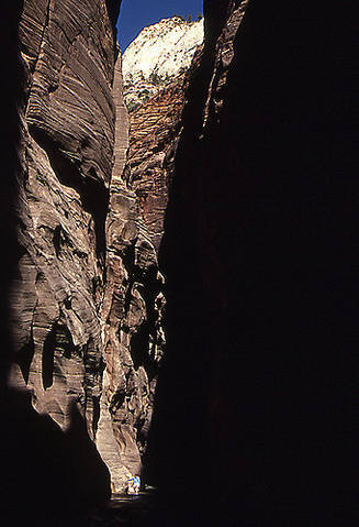 The Narrows-Zion.<br> Photo by Blitzo.