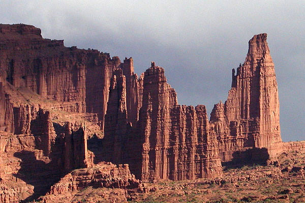 Fisher Towers.<br> Photo by Blitzo.