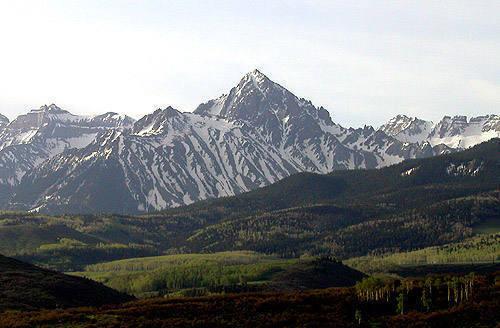 Mt. Sneffels.<br> Photo by Blitzo.