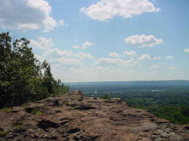 A view from the Top of Pinnacle Rock