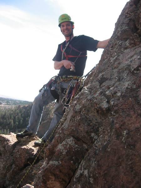 Tim on P2 ledge