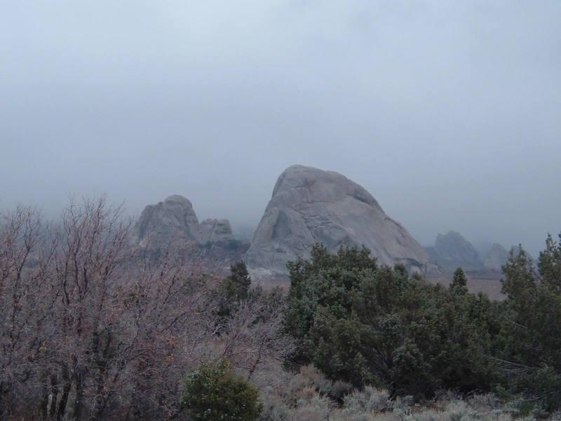practicly untouched Utah granite