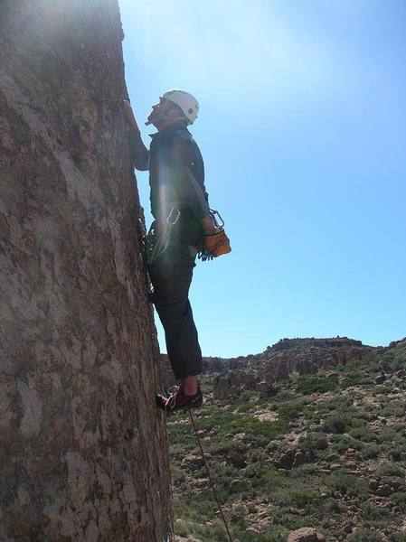 Ol Solo Meo 5.6 at the Mine area of Queen Creek