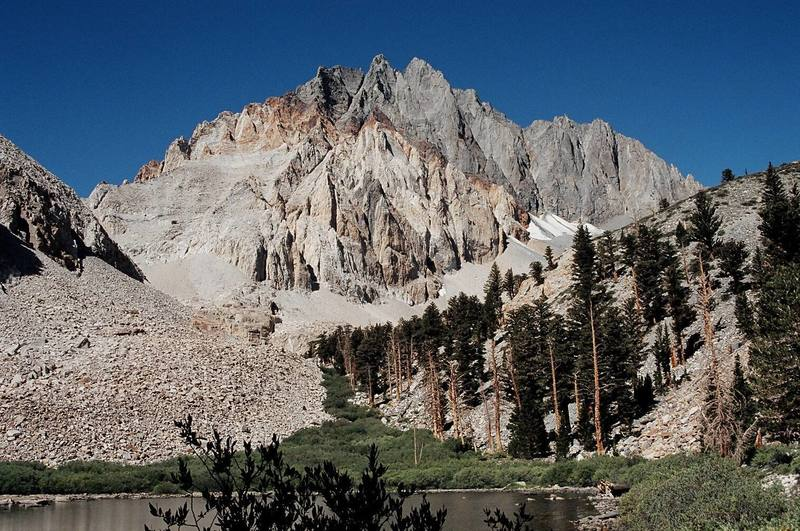 Split Mountain from Red Lake (Sept. 2003)