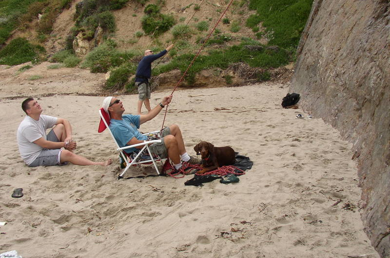 Typical sight at Point Dume...
