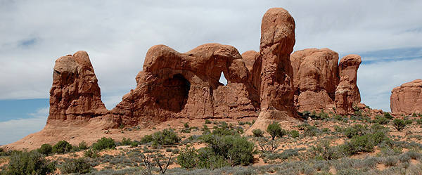 Double Arch area-Arches.
