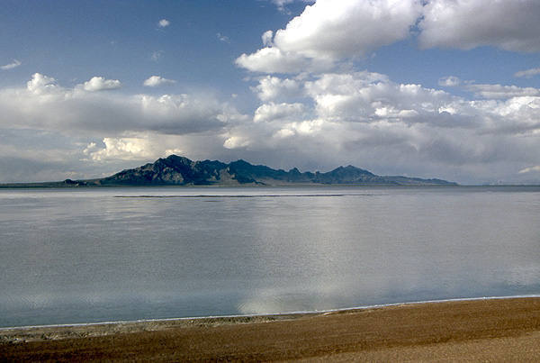 The Salt Flats after a heavy rain.<br> Photo by Blitzo.