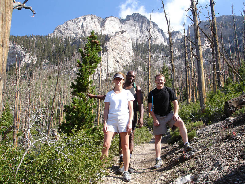 A very happy day with my friends Mike, Holly, and Robert at Mt. Charleston. We laughed our asses off all day. <br> <br> Crazy crew. <br> <br> I'll never forget our hilarious conversations, and the beautiful day we had together.