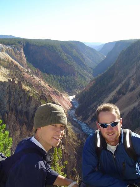 Grand Canyon of the Yellowstone, from the days of being a backcountry ranger for a summer.