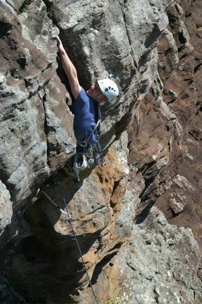 Erik on No Shadow of Darkness.  Photo by Jer Collins.