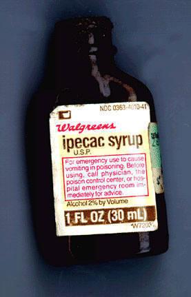Ipecac Syrup. Yummy.