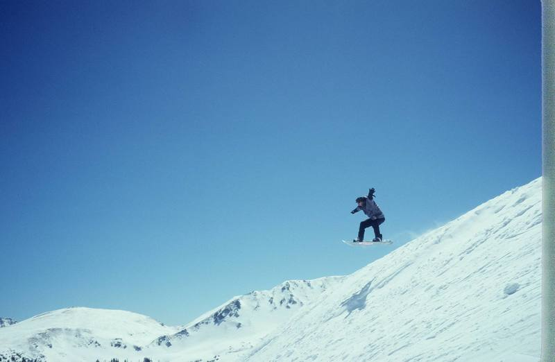 I'm an infrequent flyer lately and I miss it alot!<br> rider:Olaf Mitchell, photo Clay Thomas