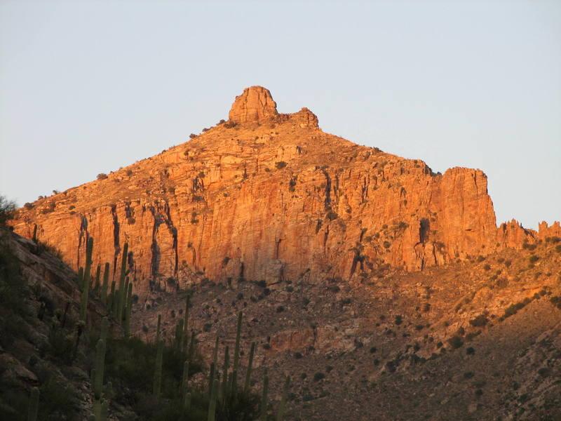 Thimble Peak and Whipple Wall
